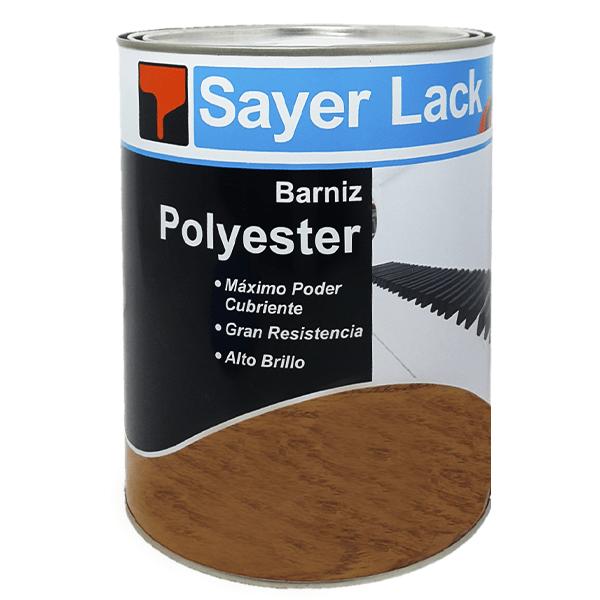polyester vertical transparente