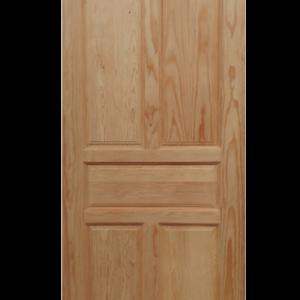 puerta de pino madera