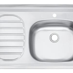 fregadero metalico para lavar trastes