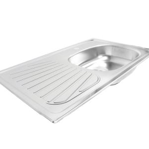 fregadero de metal cocina