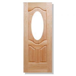 puerta ovalo encino