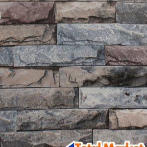 Papel Tapiz 3d Autoadherible Piedra Laja Ladrillo